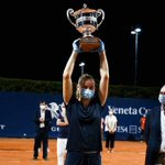 Image for the Tweet beginning: .@fioferro wins second career title