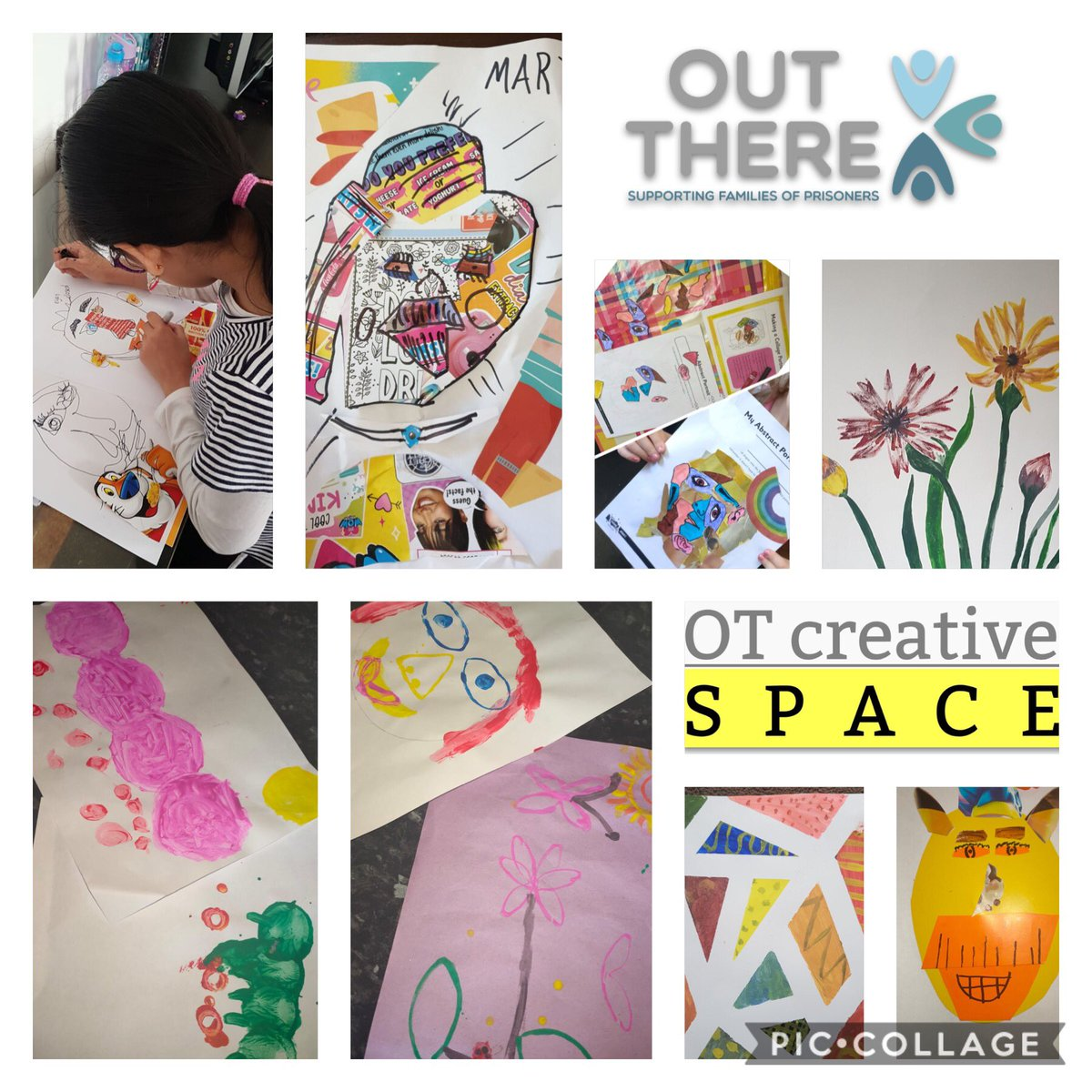 A huge thanks to Lynda @OTcreativeSPACE for delivering our Summer Art Programme! - Fun, inclusive with something for everyone 😊 our families absolutely loved it 🥰