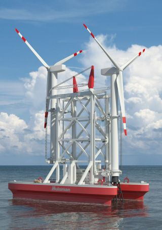 To improve the efficiency of offshore wind turbine installation, Huisman Equipment developed the Wind Turbine Shuttle (WTS).  #Huisman #innovation #InternationalNews #OceanEnergy #TidalEnergy #WaveEnergy #WindTurbineShuttle #Windenergy #Windturbines #WTS http://alternativeenergyresourcevideos.com/2020/08/09/huisman-introduces-wind-turbine-shuttle/ …pic.twitter.com/S1vbLixNMR
