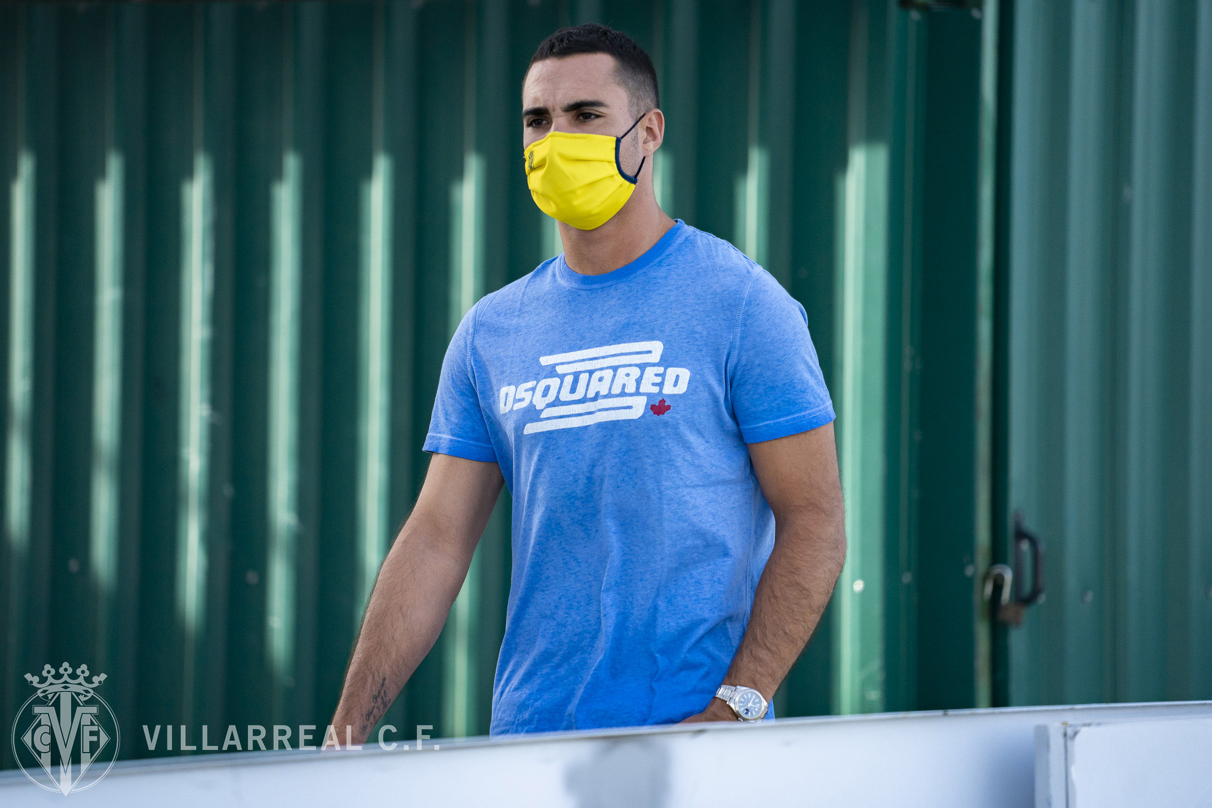 Sergio Asenjo, en la vuelta al trabajo del Villarreal (Foto: VCF).
