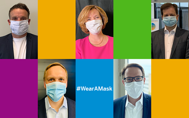 At @SAP, we #wearamask because we care for each other. Together, we will prevail in one common cause. Join the @WHO challenge - because wearing a mask means taking responsibility for others. https://t.co/1w5cilwp6b