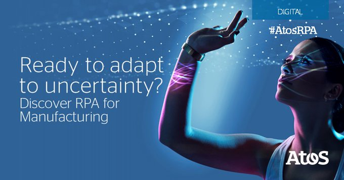 #AtosRPA implements scalable solutions to deliver advanced #insight, adaptability and speed to...