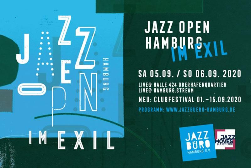 test Twitter Media - Hamburg   SA 05 – SO 06 SEP 20   Halle 424 im Oberhafen 16-21 Uhr   Jazz OPEN im Exil   TICKET-VVK 10,- / Konzert   https://t.co/4DV9IWMMo2   An 2 Tagen jeweils 3 Live-Konzerte mit Musikern aus der Hamburger Jazzlandschaft, die parallel im Hamburg Stream übertragen werden. https://t.co/2AQMdL5Ozc