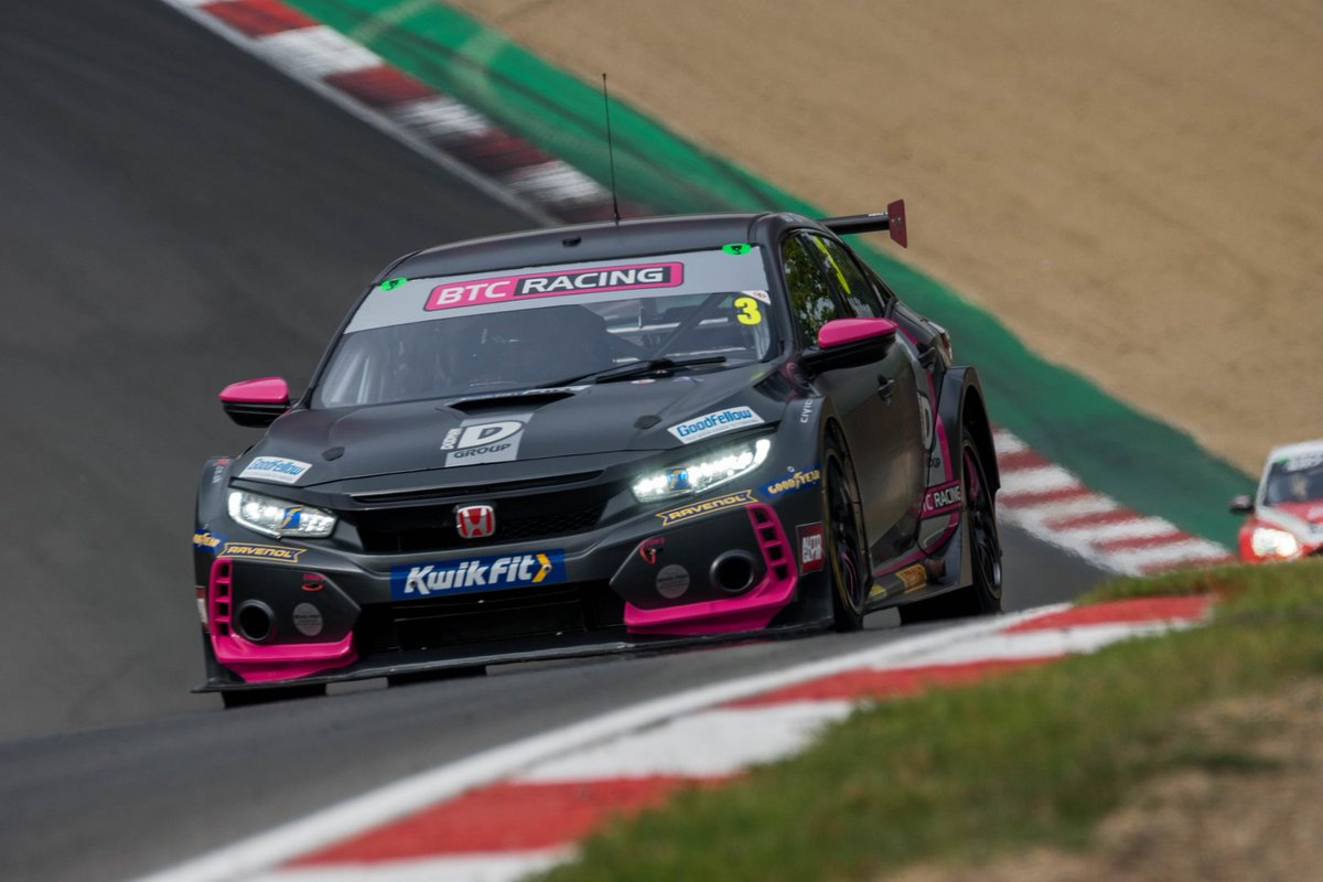 Rollercoaster weekend for @btc_racing at Brands Hatch!   Now time for a weekend off and time for the drivers and team to recharge ready for Oulton Park! Head over to our Facebook to read more...  #btcracing #btcc #motorsport #brandshatch #racing #honda #hondacivic #typer https://t.co/YmnFmzj833