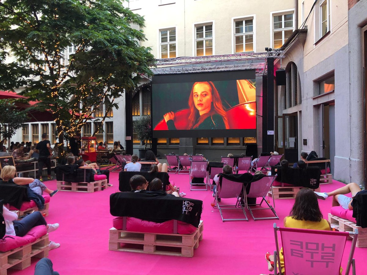 Open-Air Cinema in #Munich  Our lovely city offers a hefty program of #movies for any taste! Save your seat and enjoy your evenings!    #openairkino #socialdistancepic.twitter.com/R6SLSAJjQb