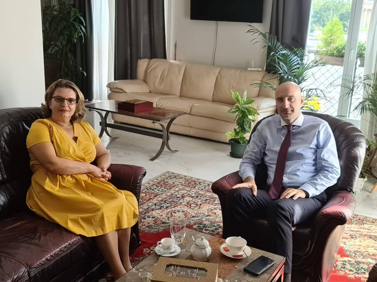Dr. Lazeri appreciated the measures taken in #Hungary as a result of which infections and loss of life have been low. We focused particularly on the eventual ways of cooperation between &in the healthcare sector in order to overcome the difficulties caused by pandemic. pic.twitter.com/h9eUYc1BzZ