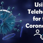Image for the Tweet beginning: 🔹 COVID-19 Telehealth - do