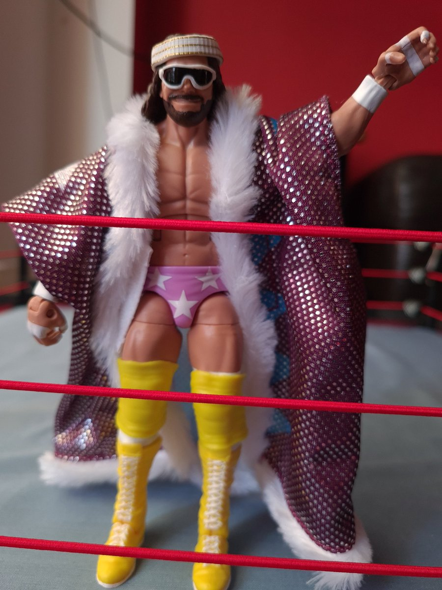Nice love the face detail, just received my macho today. My 100th figure, in April this year I only had 50 pic.twitter.com/JwYZIjRnPX