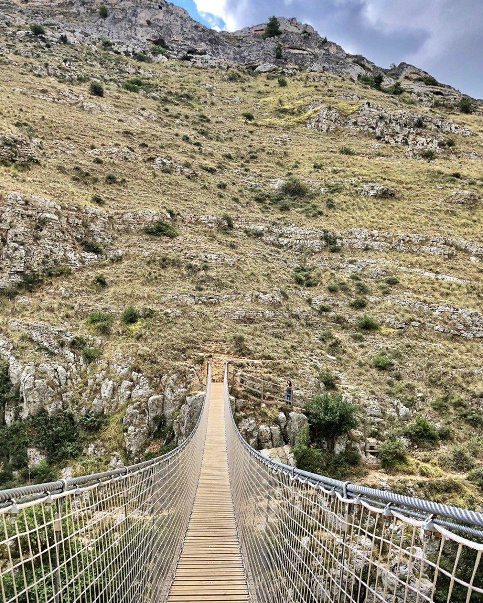 RT @FilippoSchiuma: Ponte Tibetano a #Matera