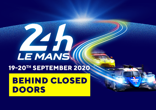 The 24 Hours of Le Mans will be raced on 19-20 September 2020 behind closed doors.  ➡️ https://t.co/SuArZiMkzj  #LeMans24 #WEC https://t.co/VXUrTZkPZB