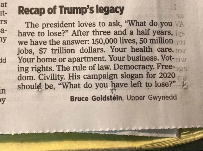 Something for @realDonaldTrump to think about.