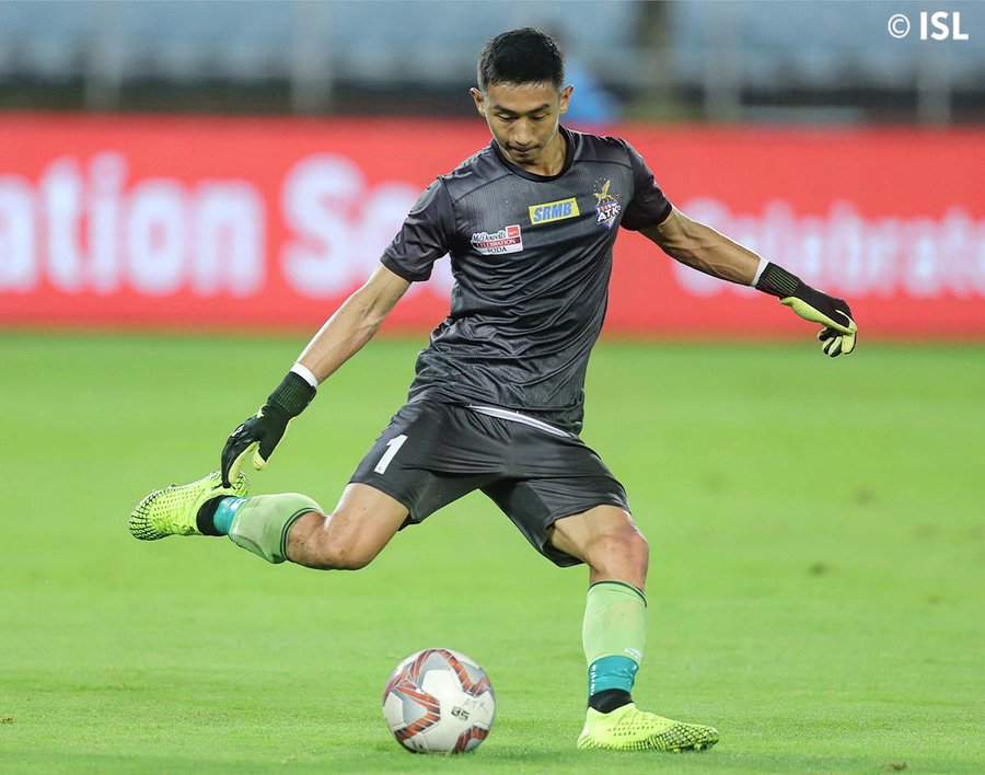 Dheeraj Singh, Football Express