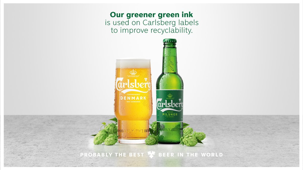 Even our labels are made with sustainability in mind.🙌♻️  https://t.co/7lv7FNFW76  #Beer#Sustainability#SustainabilityMatters https://t.co/62zptzqJA8