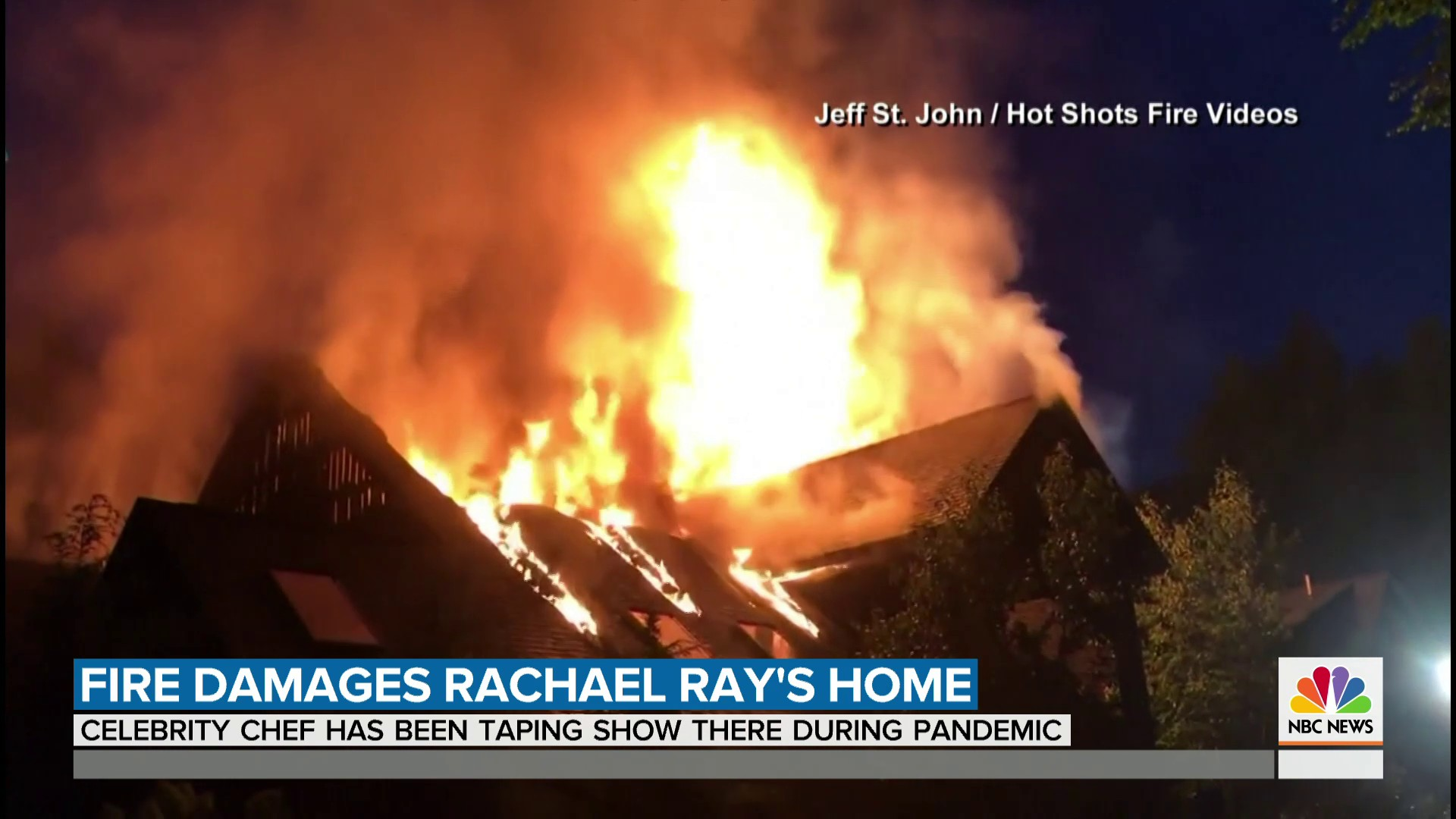 Celebrity chef Rachael Rays home damaged by fire in Lake ...Rachael Ray House Fire Damage