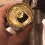 缶ビールをよく飲む人は試してみて!飲み口の下辺りを凹ませると旨くなる!