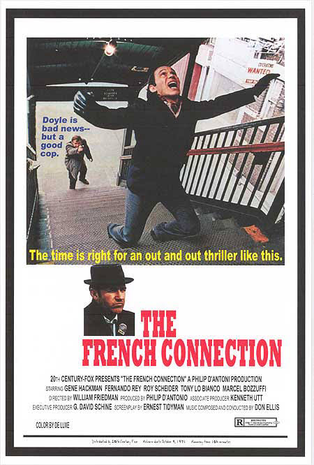 The French Connection(1971)  08/10/2020 #MovieReview pic.twitter.com/LcAmhWwWiA