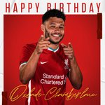Image for the Tweet beginning: Have a brilliant birthday, @Alex_OxChambo!