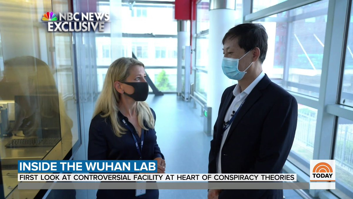 The Wuhan Institute of Virology handles the world's most dangerous pathogens, making it the target of conspiracy theories about the origin of the coronavirus. @janisfrayer was granted access to the lab and has the story. https://t.co/6WAfM6Z7VZ
