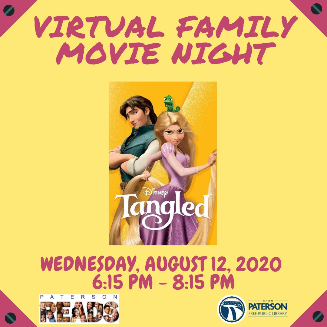 test Twitter Media - Join us for a virtual family movie! When: Wednesday, August 12, 2020 @ 6:15 PM  Where: Online (link be added later) #PatersonPL #PatersonReads #Summerreading2020 #Familymovie https://t.co/W0VaswPhmq