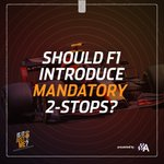 Thoughts on mandatory 2-stop races? 👍 or 👎  🗣 Send us your opinion via voice note to isitjustme@motorsport.com to feature on the Is It Just Me? podcast with @JessMcF1 and @LukeSmithF1   #F1