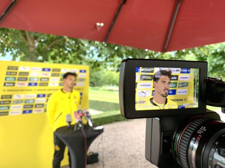"""🎙 Hummels media presser:  """"I'm completely on schedule. I was able to do everything that was planned. It's only a matter of days before I can rejoin the team!"""" https://t.co/3mraYPbFK2"""