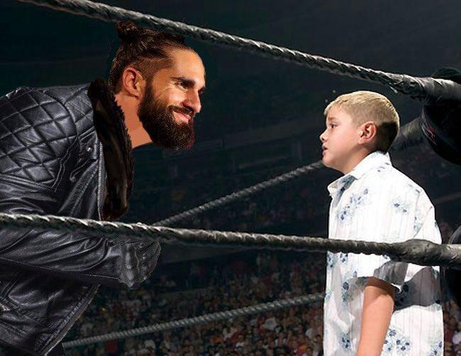 @WWERollins's photo on #WWERaw