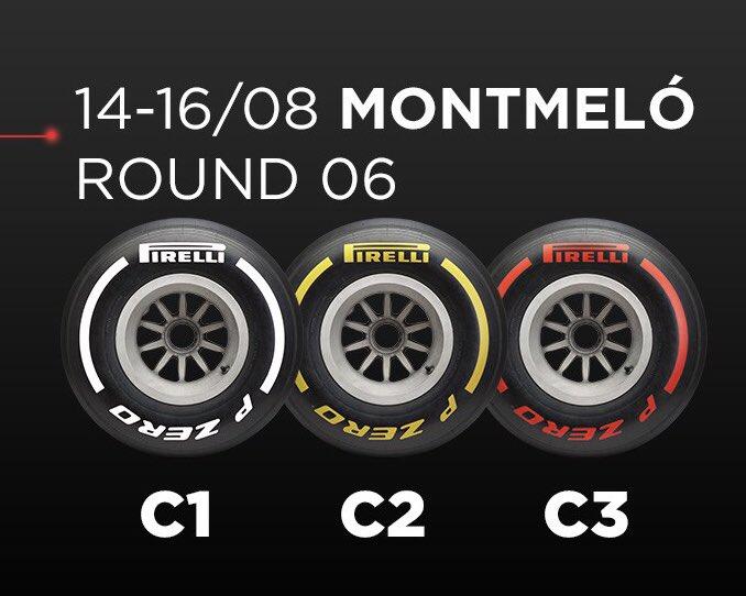 Pirelli selecciono para el #SpanishGP la gama más dura de neumáticos. @omarketingf1 @HablandodeF1Mx @TavoMotta https://t.co/xjeGi0fSp6