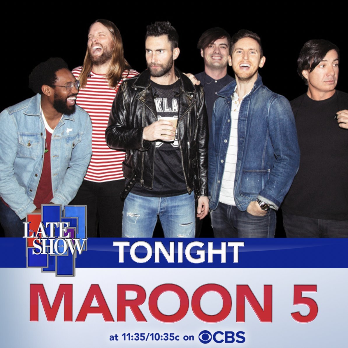 "TONIGHT! Tune in to @colbertlateshow to watch our performance of ""Nobody's Love"". #LSSC and #PlayAtHome @stephenathome 11:35pm/10:35pm Central"