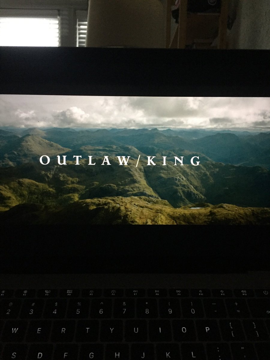 #movieresearchnight Outlaw/King is based on the true story of Robert the Bruce, the rightful king of Scotland. #ChrisPine takes on the lead role and #FlorencePugh plays Robert's resilient wife.  #actor #actress #actorlife #actresslife #research #film  #moviecritic #filmreview pic.twitter.com/GrMigTV34x