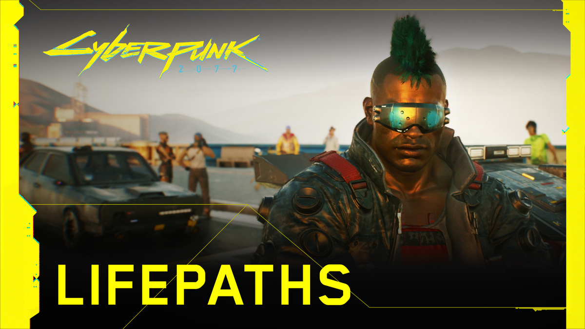 Corpo, Nomad, or Street Kid – who are you? #Cyberpunk2077