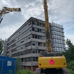Getting ready to start the demolition of the JDO Building on East Cliff @HSDemolition @EricWrightGroup #Preston