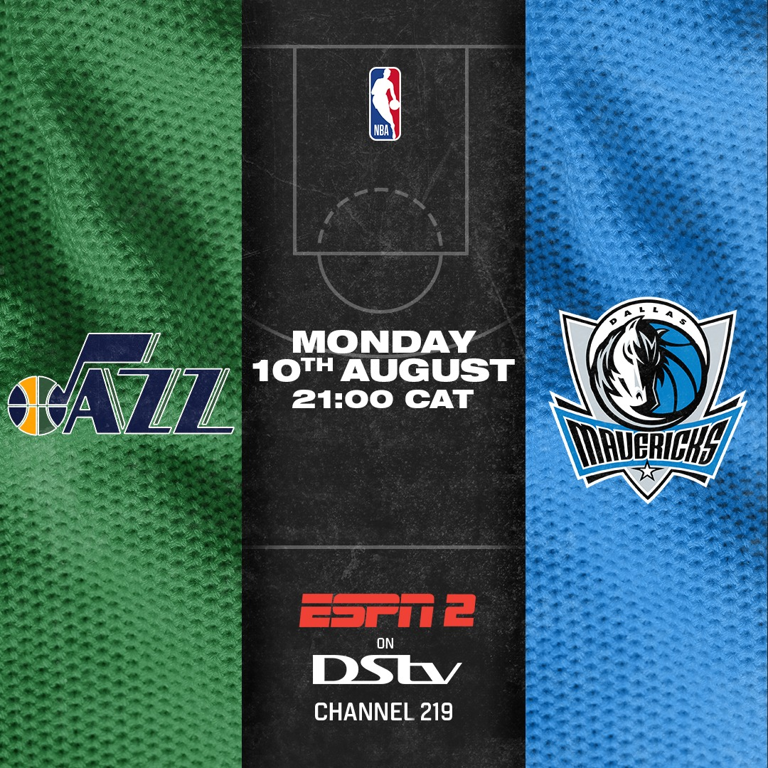 The Dallas Mavericks will travel to the Utah Jazz tonight in our @NBA action. Make sure to tune in live🏀