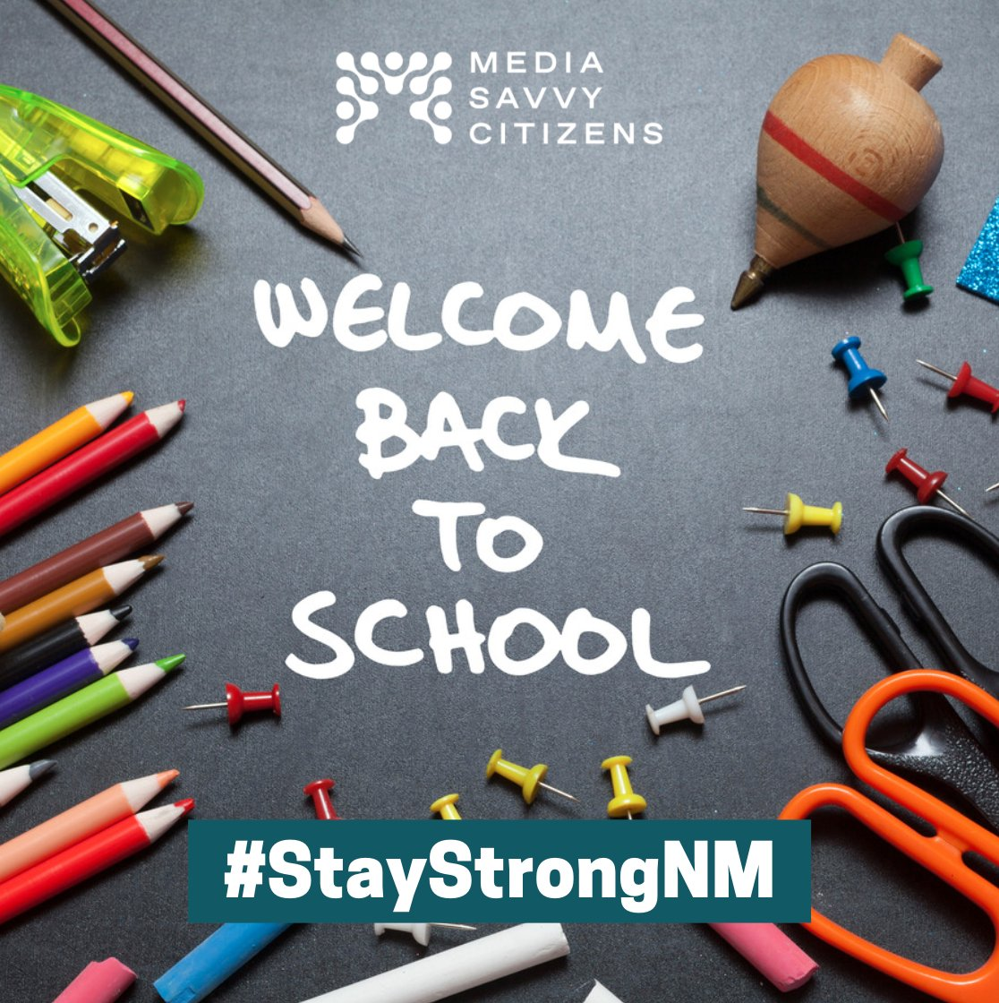 Welcome back to school! Wishing all educators and students a safe and healthy school year. The pandemic has taught us all how to adapt to online-learning and find new ways to stay engaged while at home. #StayStrongNM, we can do this. https://t.co/aGMEii8Vty
