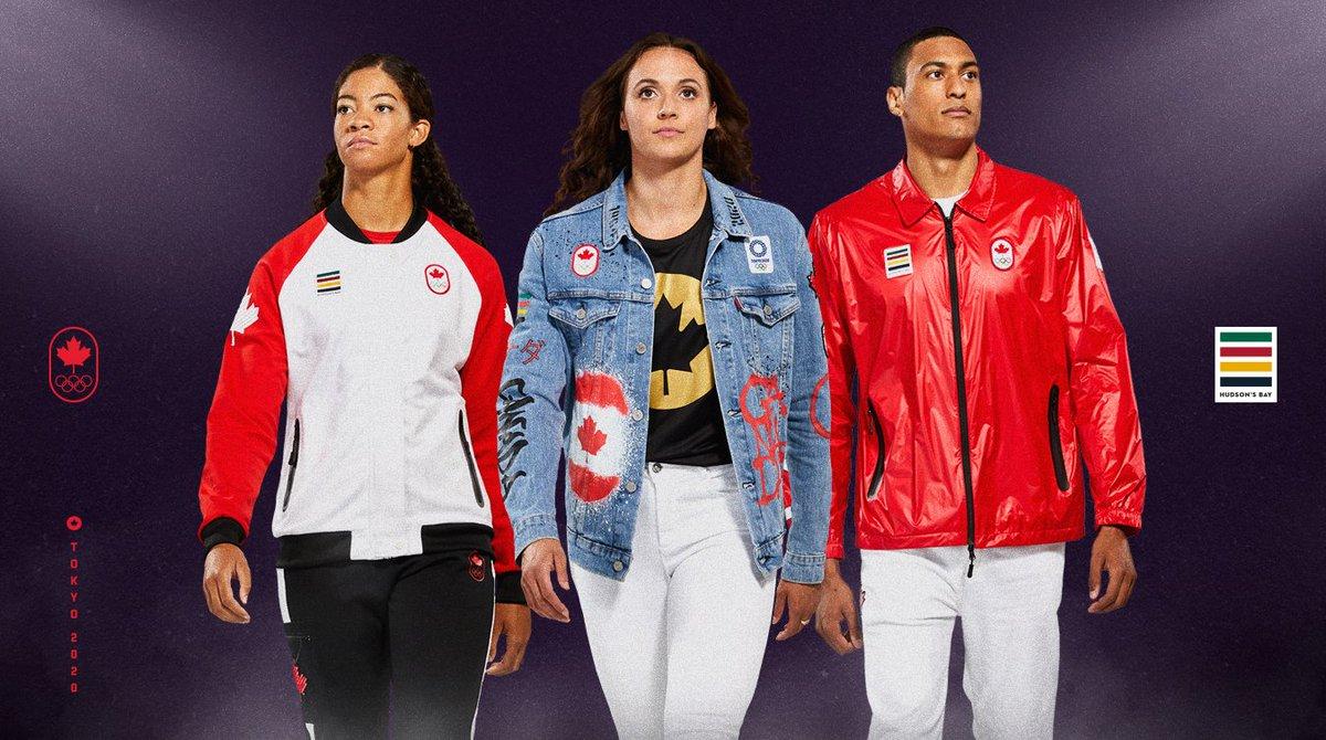 Communiqué : La Baie d'Hudson et Équipe Canada dévoilent la collection officielle Tokyo 2020 : https://t.co/EGi8L4xUFj https://t.co/gqJsyzoKgs