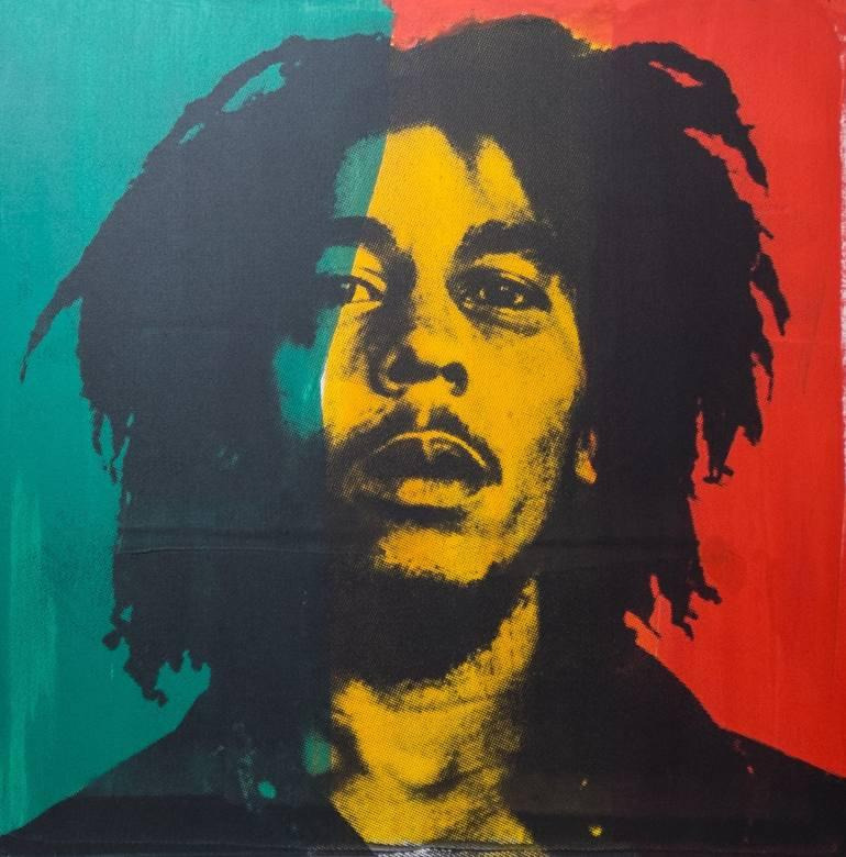 """""""One good thing about music, when it hits you, you feel no pain.""""  Bob Marley always had it right. What's on your Sunday soundtrack today?   Art by Dane Shue https://t.co/s71EErvGOz"""