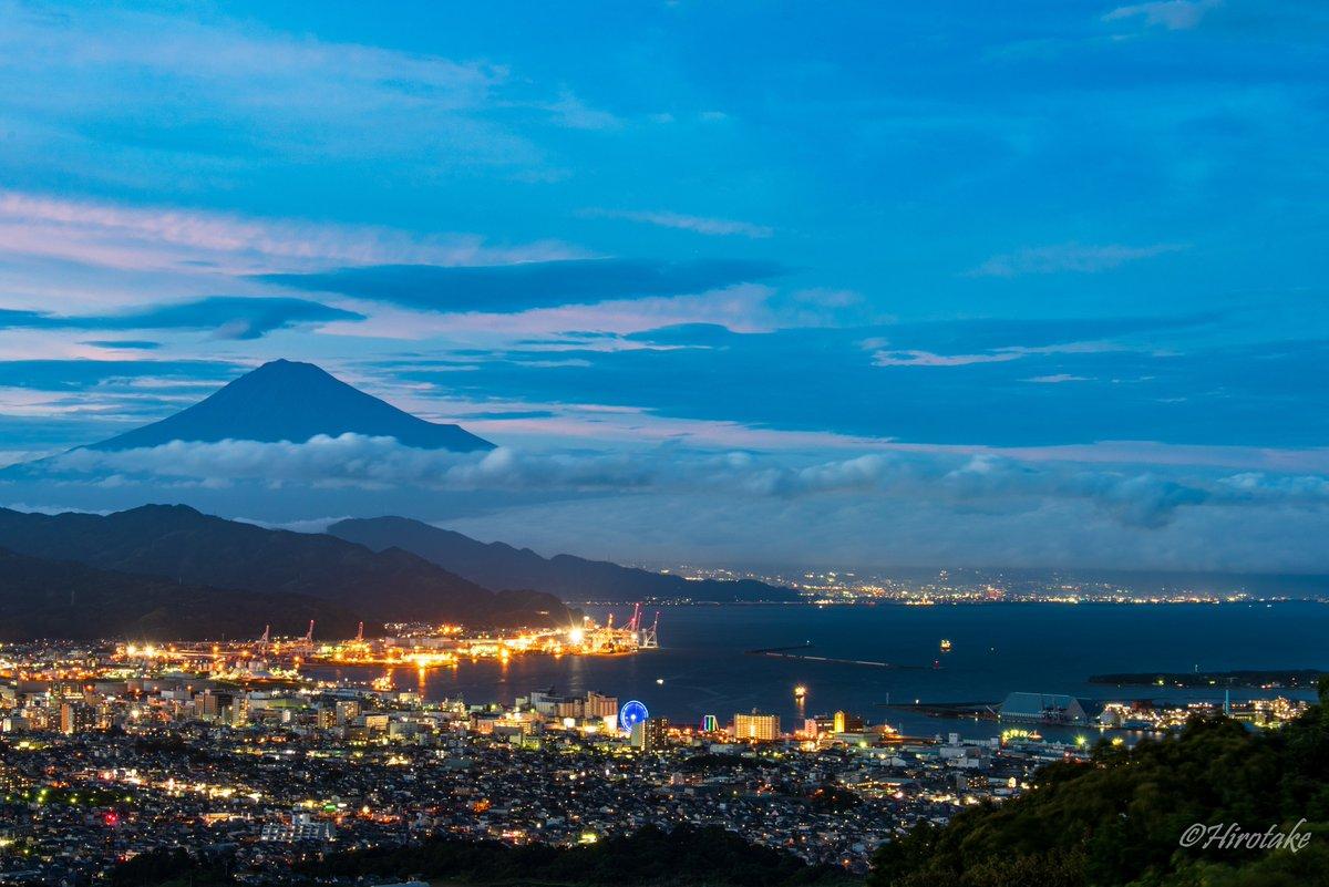 続いてブルーアワーの夜景 - Blue Hour August 10,2020 19:10pm - 日本平/静岡市清水区/静岡県 - Nikon D750 - #pashadelic #tokyocameraclub  #zekkei_delic_j #1x_japan #photo_travelers #nationalgeographic #photo_shorttrip  #japan #shizuokaprefecture #mtfuji  #日本 #静岡 #富士山pic.twitter.com/IzDjXJpu35