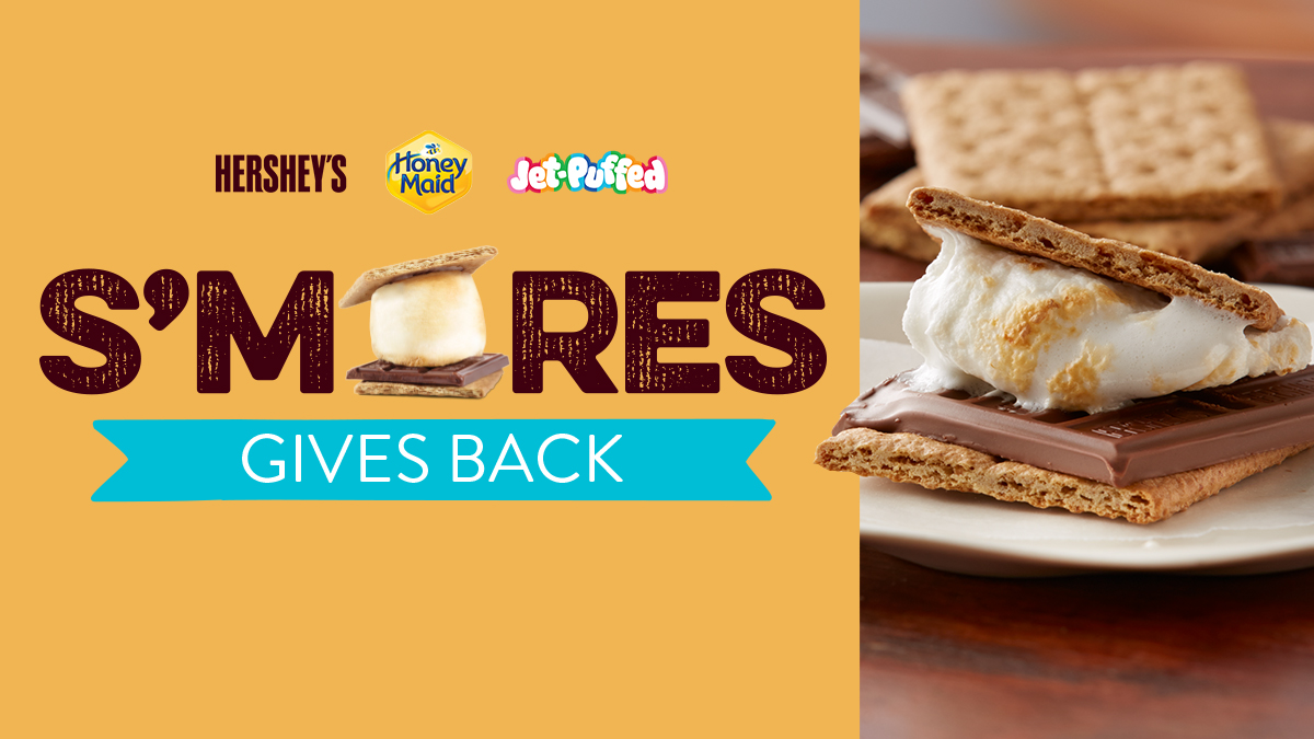 Hershey's, @HoneyMaidSnacks, and @JetPuffed are teaming up for more than just delicious treats! In honor of National S'mores day, Follow the link to find out how this classic summer dessert is giving back to small businesses. #SmoresGivesBackContest