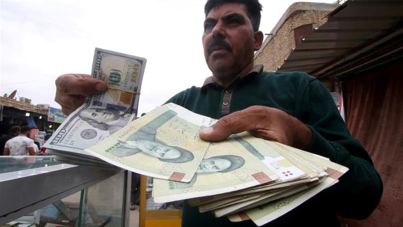 """#Iran Government Promises """"Breakthrough"""" to Bolster Sinking Currency   https://t.co/paXMIerqZc  #IranSanctions https://t.co/HRzGZhbdo8"""