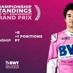 It's ➕1⃣ position for @lance_stroll in the Drivers' Championship after yesterday's race   Check out our #TopFive moments from the weekend 👉https://t.co/pykmwtscrf  #F1 #F170