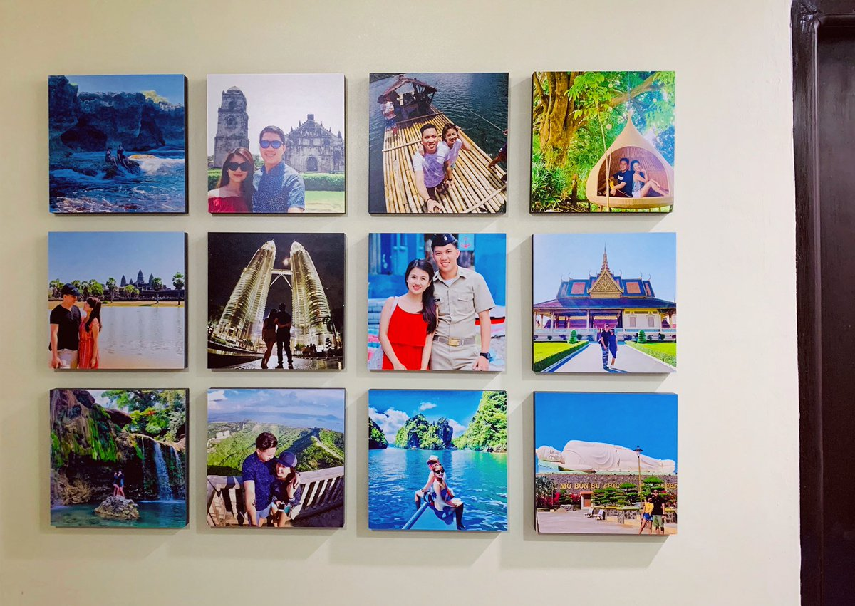 Loving my #Mixtiles wall! This is my second box and I'll probably order more. ❤️✨ @mixtiles