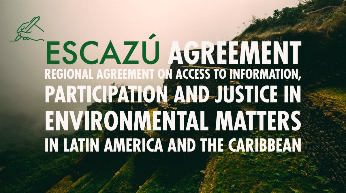 🇵🇪 @WGBizHRs experts urge #Peru to ratify the landmark #EscazúAgreement as it offers an historic opportunity to make companies more responsible for their impact on the environment and to protect #HumanRights defenders. Learn more: ow.ly/OARB50AVsa9