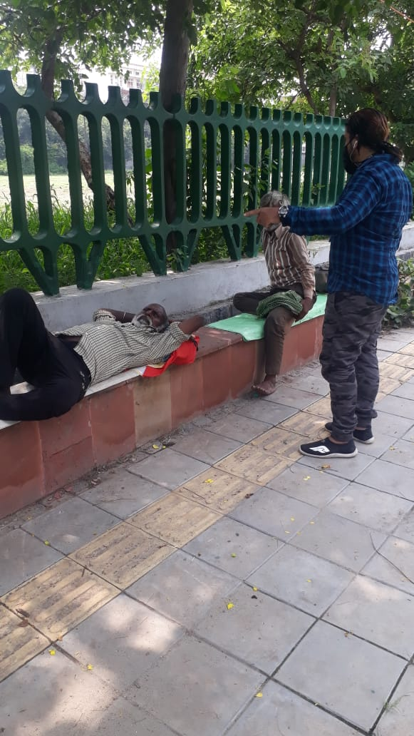 Many homeless people are rescued by @DUSIB_Shelters from park near Rajghat daryaganj. Gradually, the place was also lead to many anti social activity. @ArvindKejriwal @AamAadmiParty