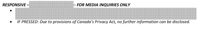 What good is a freedom of information law if departments are allowed to redact media lines? #cdnfoi https://t.co/ONbAGrdhIa