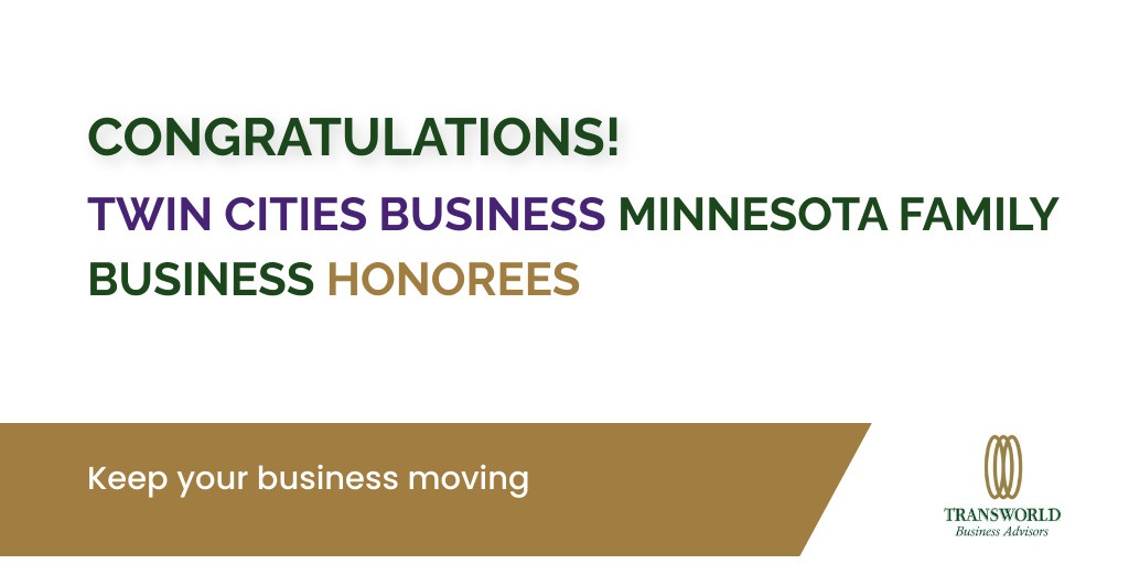 Congratulations to Twin Cities Business Minnesota Family Business Award Honorees!   #familybusiness #smallbusiness #businessbroker B&F Fastener Supply Gamer Packaging, Inc. Independent Packing Services Oppidan Investment Company Waytek, Inc.pic.twitter.com/tD7vTaig0d