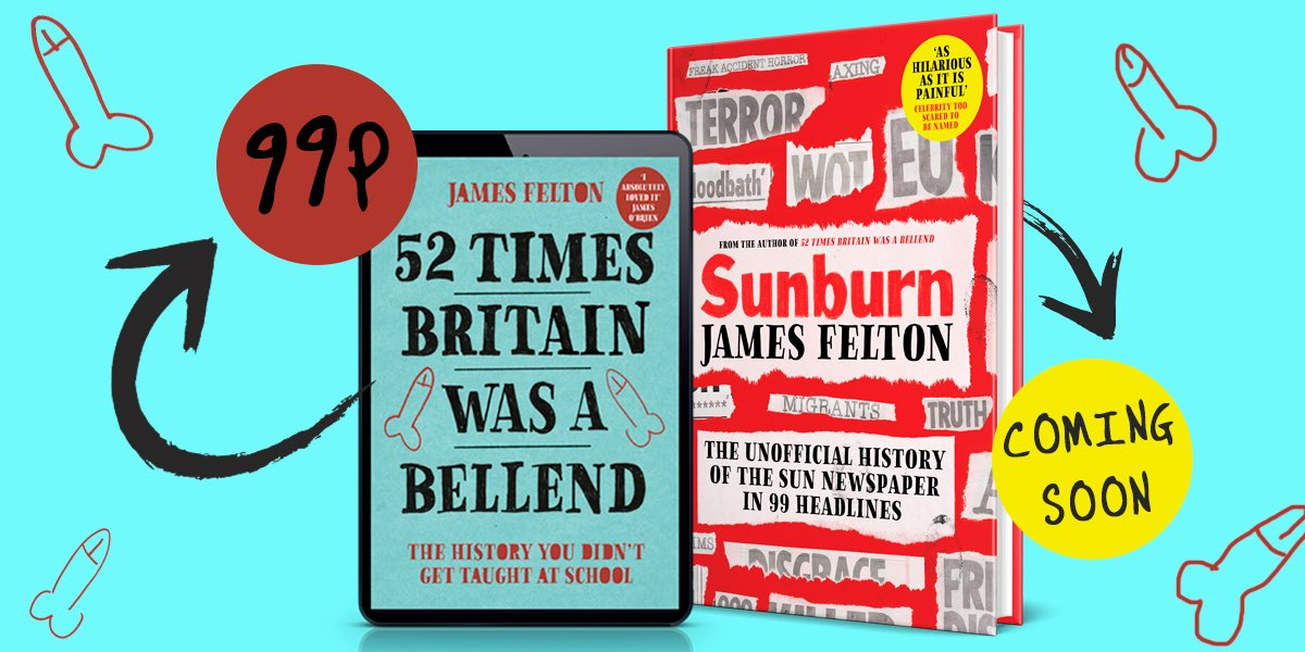 For 52 other times Britain has been a bellend, my book is currently 99p on Kindle:  https://t.co/fPcET2J0dl https://t.co/UCY2ymZHul