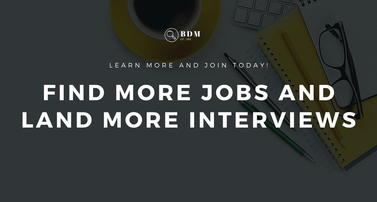 When #jobs are hard to find and #jobinterviews are hard to come by, you need a way to find more jobs and land more interviews.   Join More Jobs to find and land interviews for more jobs. Learn more and join today! Canada http://ow.ly/vFt050ziAq2  USA http://ow.ly/XzYE50ziAq3 pic.twitter.com/MF0tw9HZXP