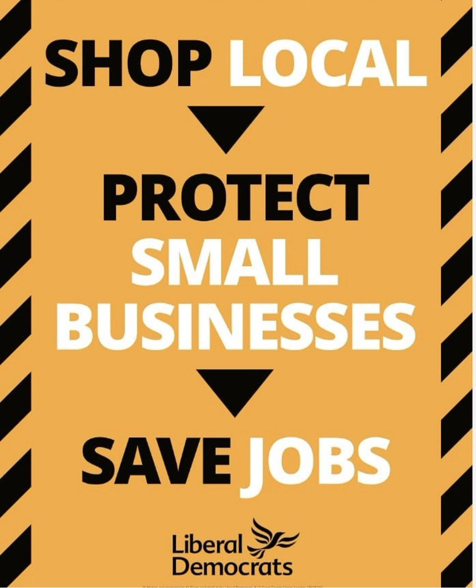 Worcester Liberal Democrats' @Worcesterlibs are happy to Support the #ShopLocal  initiative pic.twitter.com/1gVsXlWidk
