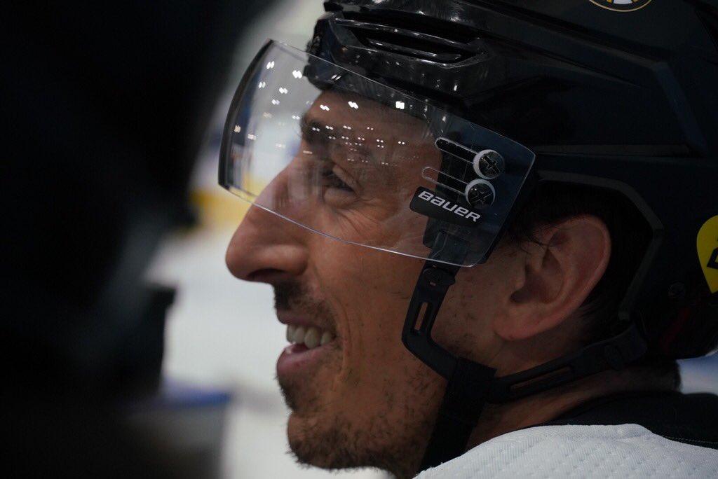 Starting fresh. #NHLBruins