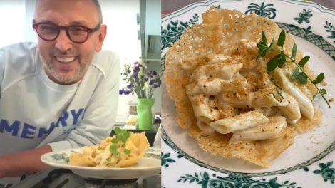 Penne 4 formaggi in cialda di parmigiano: la ricetta di Bruno Barbieri - https://t.co/4Ob74VUQys #blogsicilianotizie