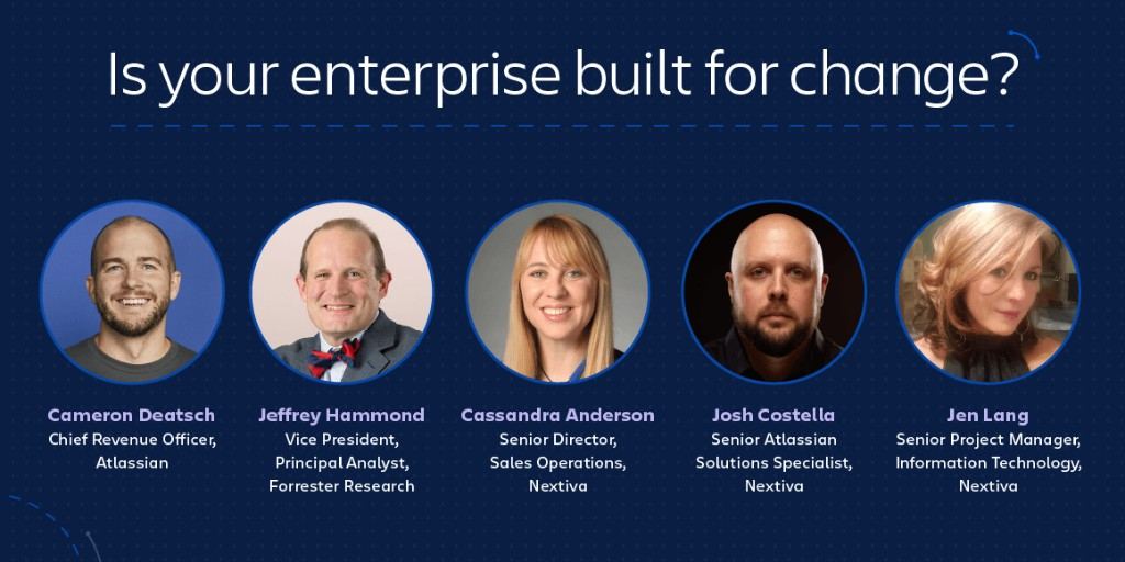 Join us tomorrow for Team Tour: Enterprise Edition. Hear from a leading Forrester analyst and our customer, @Nextiva, on how your business can stay ahead of the curve in today's world, and learn how to build team-centric best practices at scale. Sign up: ow.ly/4eKV50AVF4K